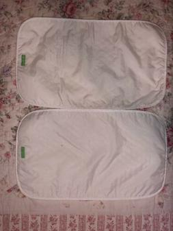 2 Vera Bradley Baby Changing Mats Pads Covers For Travel Whi