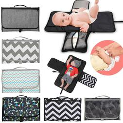 2018 baby portable folding diaper travel changing