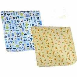 2pcs Pack Monvecle Baby Infant Waterproof Cotton Changing Pa