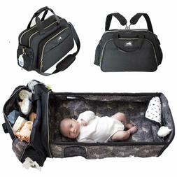 3 in 1 Diaper Bag Backpack,Diaper Changing Pad & Portable Ba