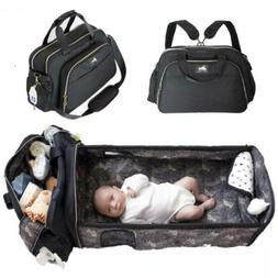 3 in 1 Diaper Bag Backpack with Changing Pad and Portable Ba