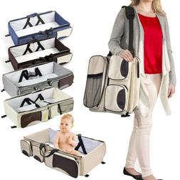 3in 1 Diaper Tote Bag Bassinet Nappy Changing Station Carryc