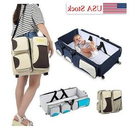 3in1 Portable Infant Baby Bassinet Changing Pad Station Napp