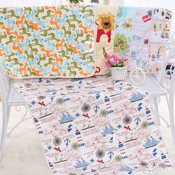 75*120 3 Layers Adult Waterproof Diaper Cloth Baby Changing