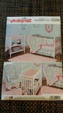 Simplicity 8622 Babies Infants Nursery Decor Changing Pad Co