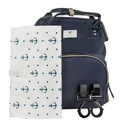 Large Multifunction Diaper Bag - Large Changing pad and Stro