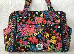 Vera Bradley Make A Change Baby Bag-Field Flowers