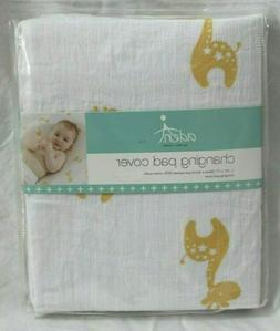 aden by aden + anais 100% Cotton Muslin Changing Pad Cover -