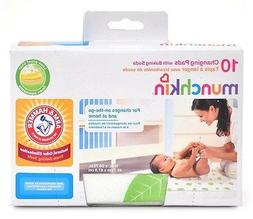 Munchkin Arm & Hammer Disposable Changing Pad, 10 count