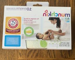 Munchkin Arm & Hammer Disposable Changing Pads with Leak Pro