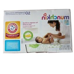 Munchkin Arm And Hammer Disposable Changing Pads with Leak P