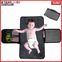 For Babies Diaper Changing Pad Portable Mat Travel Head Cush