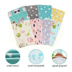 Baby Changing Pad Infant Waterproof Washable Boys Girls Urin