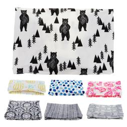 Baby Changing Table Pad Cover Contoured Diaper Change Infant