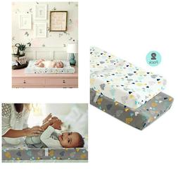 baby changing table pad covers stretchy fitted