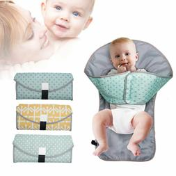 Baby Diaper Changing Mat Waterproof Nappy Change Cover Pad P
