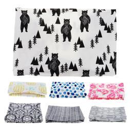 Baby Diaper Changing Pad Cover Breathable Sheet for Standard