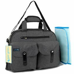 Baby Diaper Tote Bag for Maternity Travel Large Capacity Org