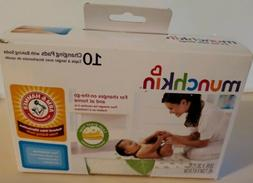 "Baby diapers - ""Munchkin 10 changing pads with baking soda"""