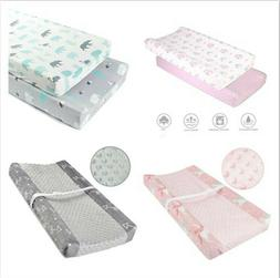 Baby Infant Minky Waterproof Changing Pad Cover Change Pad M