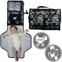 Baby Portable Diaper Changing Pad | Table Mat Station Travel