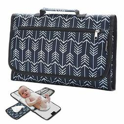 Baby Portable Diaper Changing Pad Travel Outdoor Waterproof
