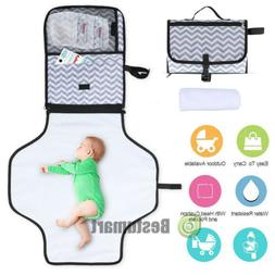 Baby Portable Folding Diaper Changing Pad Travel Can Waterpr