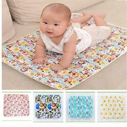 Baby Reusable Mattress Waterproof Diapering Changing Pads Co