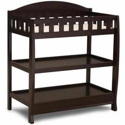 Baby Toddler Changing Table w/ Pad Safety Rails Water Resist