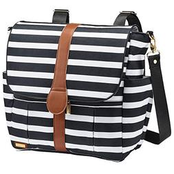 JJ Cole - Backpack, Gender Neutral Large Capacity Diaper Bag
