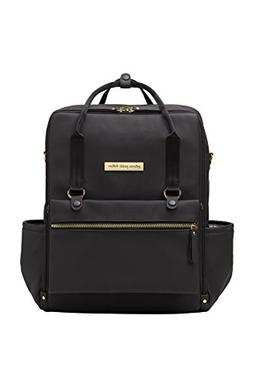 Petunia Pickle Bottom Balance Backpack, Black Matte Leathere