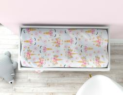 Bear Changing Pad Cover, Woodland Diaper Changing Table Pad