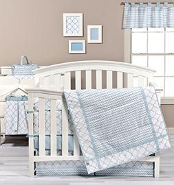 Trend Lab Blue Sky 9-Piece Complete Crib Bedding Set
