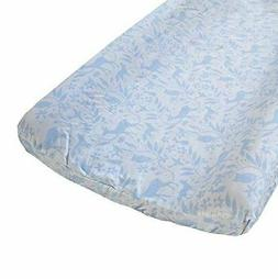 Born Wild Woodland Changing Pad Cover - Fits Standard Contou