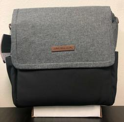 Petunia Pickle Bottom Boxy Baby Diaper Bag Backpack Graphite