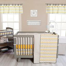 Trend Lab Buttercup Zigzag 3 Piece Crib Bedding Set