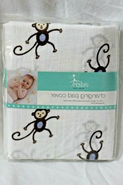 aden by aden + anais Classic Changing Pad Cover, 100% Cotton