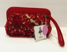Cake by Petunia Pickle Bottom Red Velvet Cameo Clutch With C