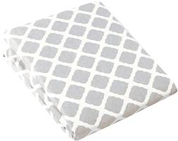 Kushies Changing Pad Cover With Safety Straps, Soft 100% Bre
