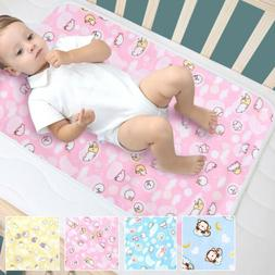 Changing Diaper Pad Cotton Washable Baby Infant Urine Mat Na
