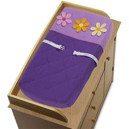 Sweet Jojo Designs Changing Pad Cover - Danielle's Daisies
