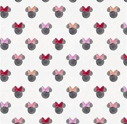 Changing Pad Cover - Watercolor Minnie Mouse