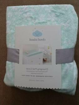 Cloud Island Changing Pad Cover -Ditsy Floral-Fits Standard
