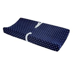 Carter's Changing Pad Cover - Navy Stars