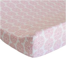 Oliver B Changing Pad Cover, Pink Petals