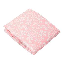 Kushies Changing Pad Fitted Sheet Terry, Pink Berries