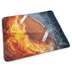 LXXYZ Changing Pad Football On Fire Portable Diaper Changing
