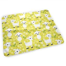 LXXYZ Changing Pad Baby Goats  Portable Diaper Changing Pad