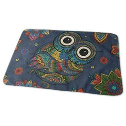Changing Pad Tribal Animal Owl Mandala Floral Flower Bird Ba