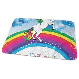 Changing Pad Unicorn Believe Your Dream Baby Diaper Incontin